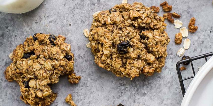 Paleo High Fiber Breakfast Cookie