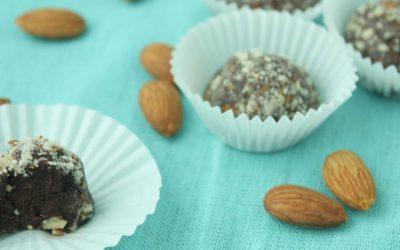 Vanilla Almond Protein Truffles