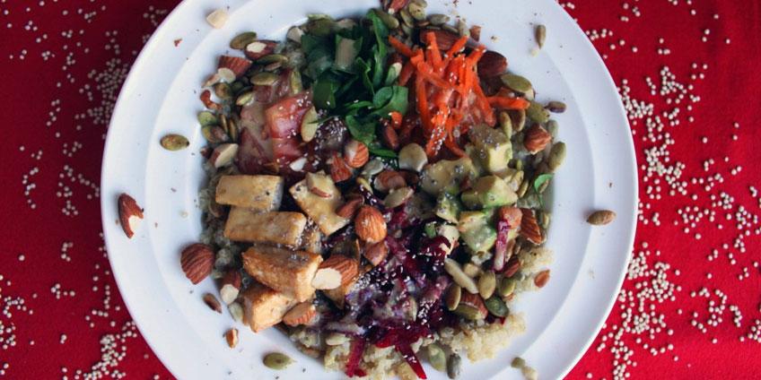 Veggie Goodness Grain Bowl Recipe