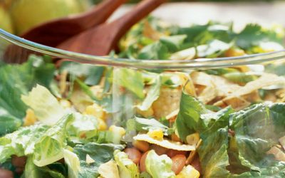 Southwestern Salad with Avocado-Lime Dressing