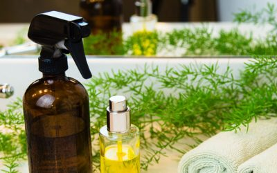 Easy Essential Oil Dusting Spray