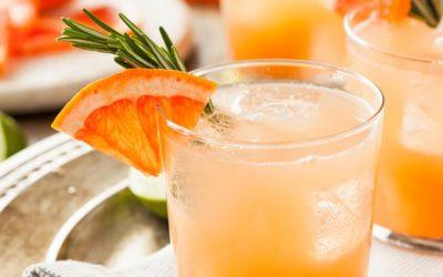 Rosemary-Peach Drinking Vinegar