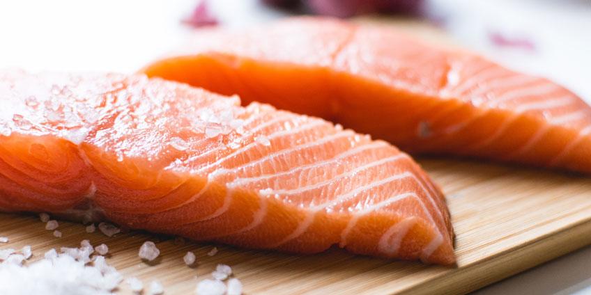 Wild Salmon and Sweet Potato Skillet Hash