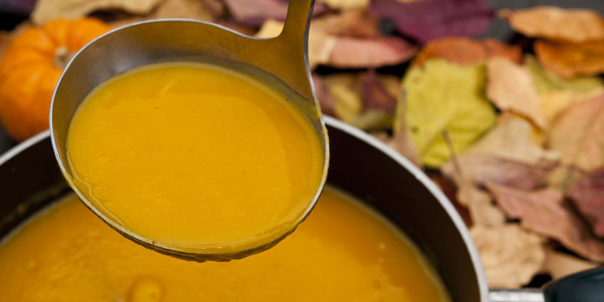 Energizing Squash Carrot Apple Soup