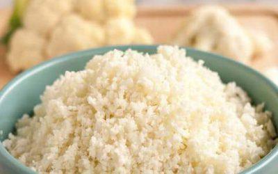Burrito Bowl with Cauliflower Rice