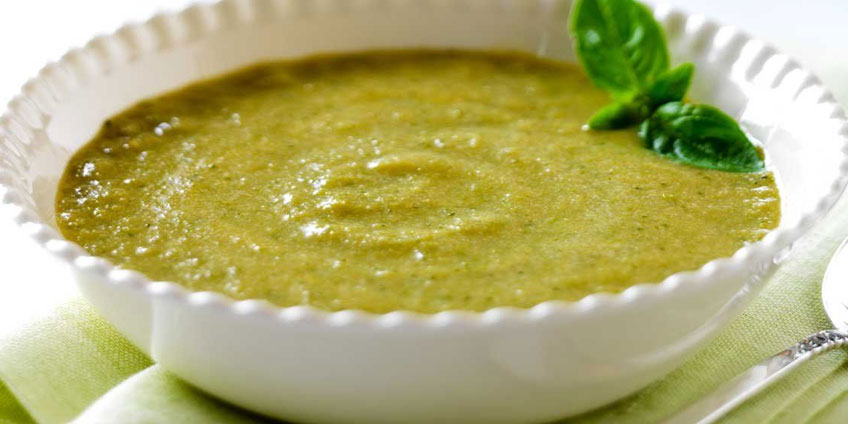 Cream of Broccoli and Cashew Soup