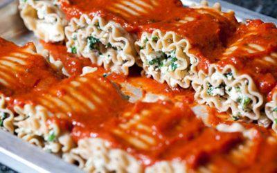 Lasagna Squash Rollups