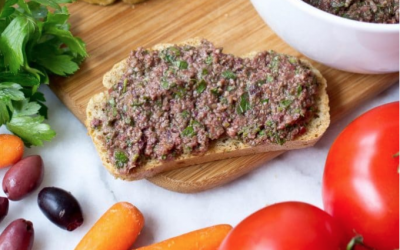 Anchovy-Free Olive Tapenade