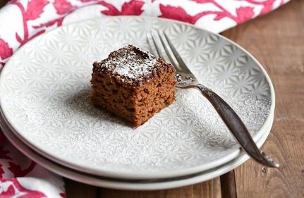 Vegan Gluten-Free Gingerbread Cake