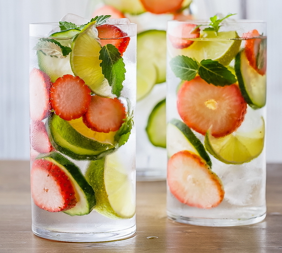 Stress Reduction Detox Water