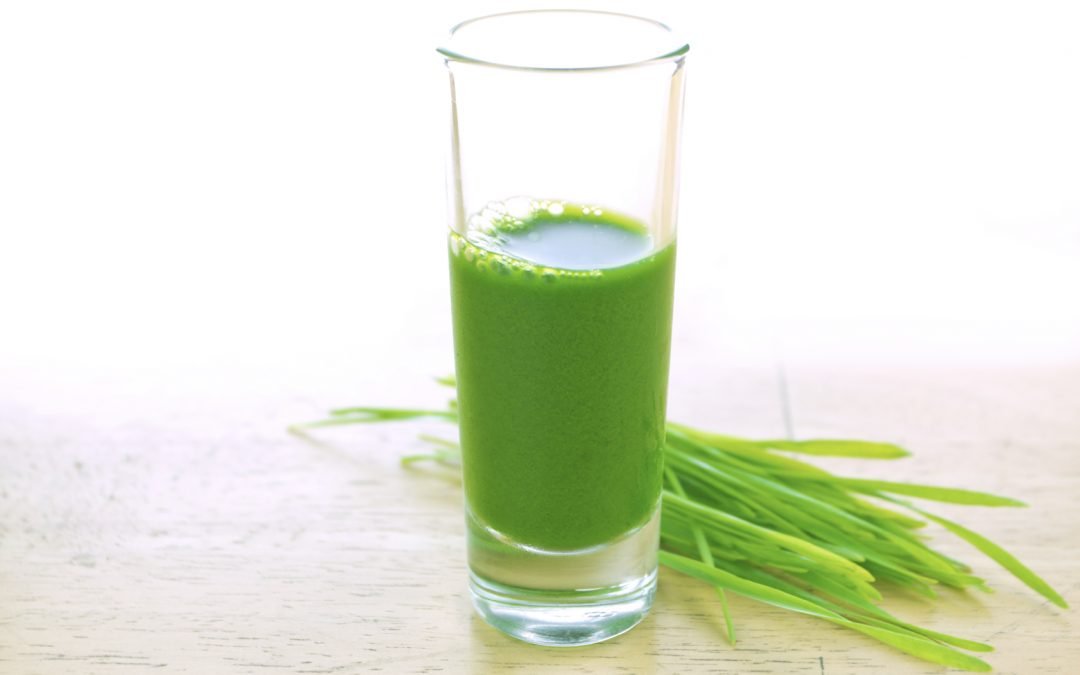 Chlorophyll Detox Water