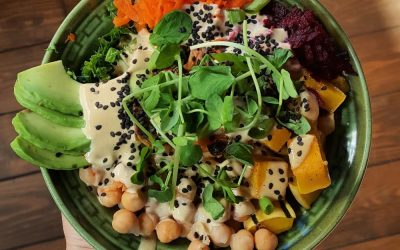 Buddha Bowl with Lemon Tahini Sauce