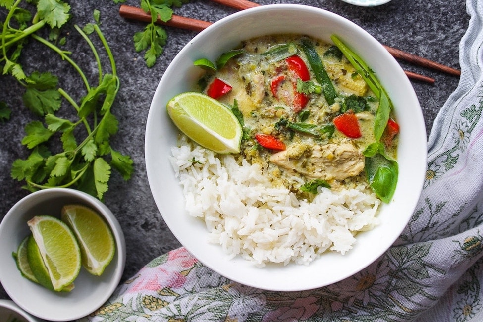 Thai Ginger Coconut Soup