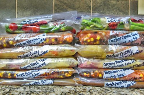 How To Store Freezer Meals