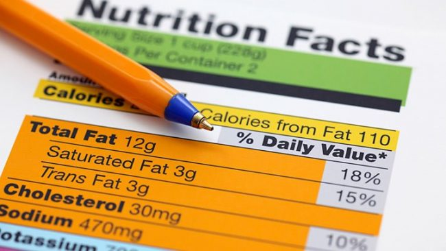 Do you know how to read a nutrition facts label?