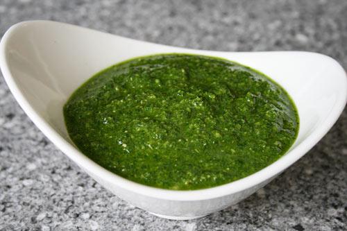 Parsley Pesto Sauce