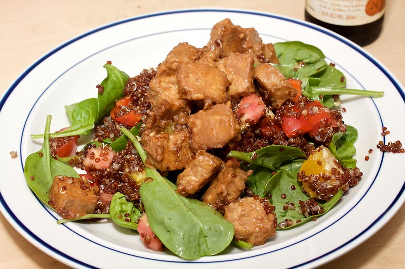 Tempeh Salad with Fresh Herbs